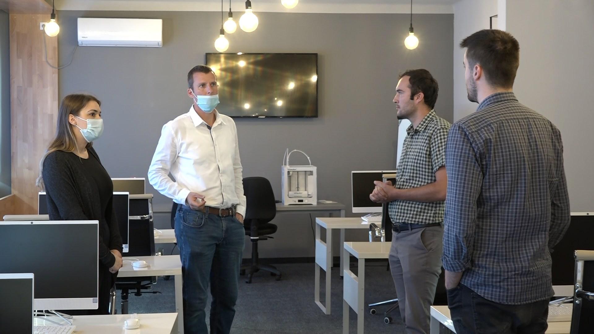 """Sastanak predstavnika firma """"BP-Bau"""" sa projektnim timom Agencije PREDA"""