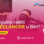 BESPLATAN WEBINAR: Kako legalno raditi kao freelancer u BiH?